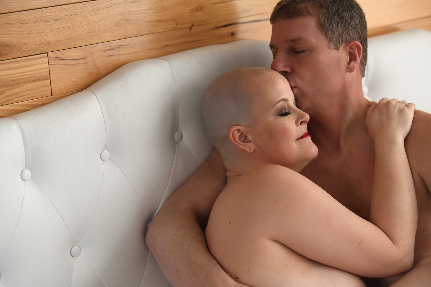 Couple in Bed: Creative Couples Boudoir Poses