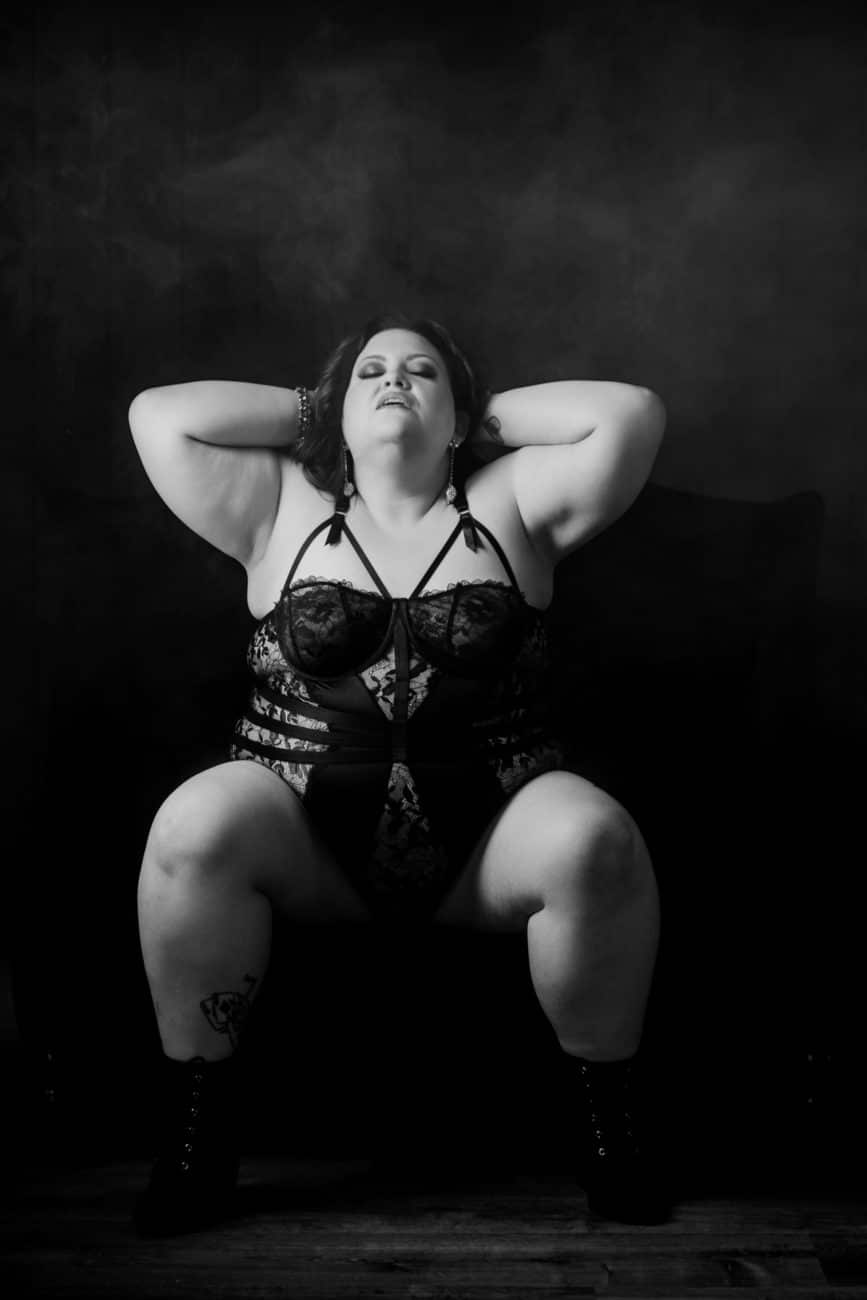 Empowering Boudoir Session New Jersey