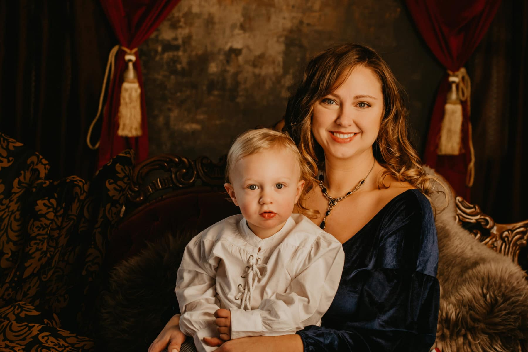 Mom and Child Professional Portraits