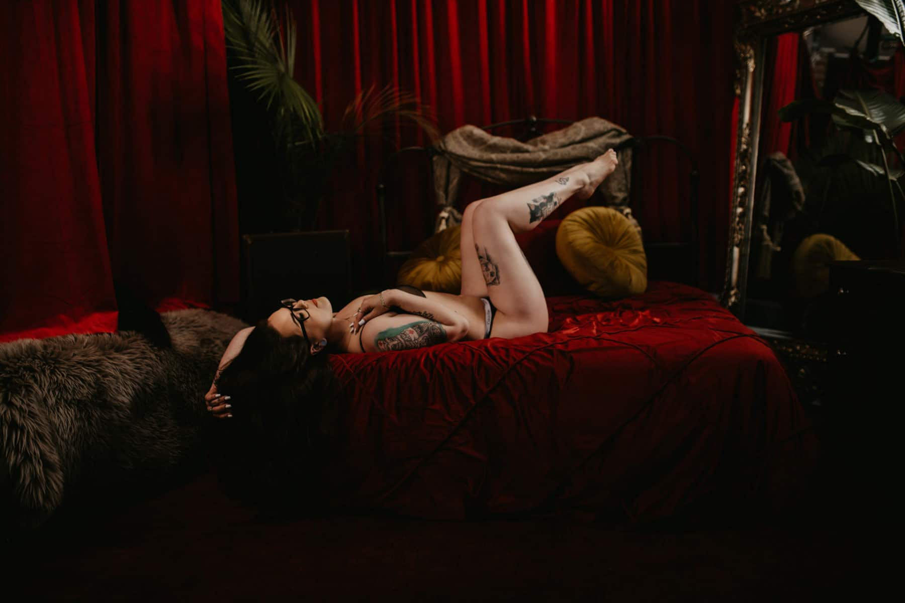 Pinup Boudoir Photography