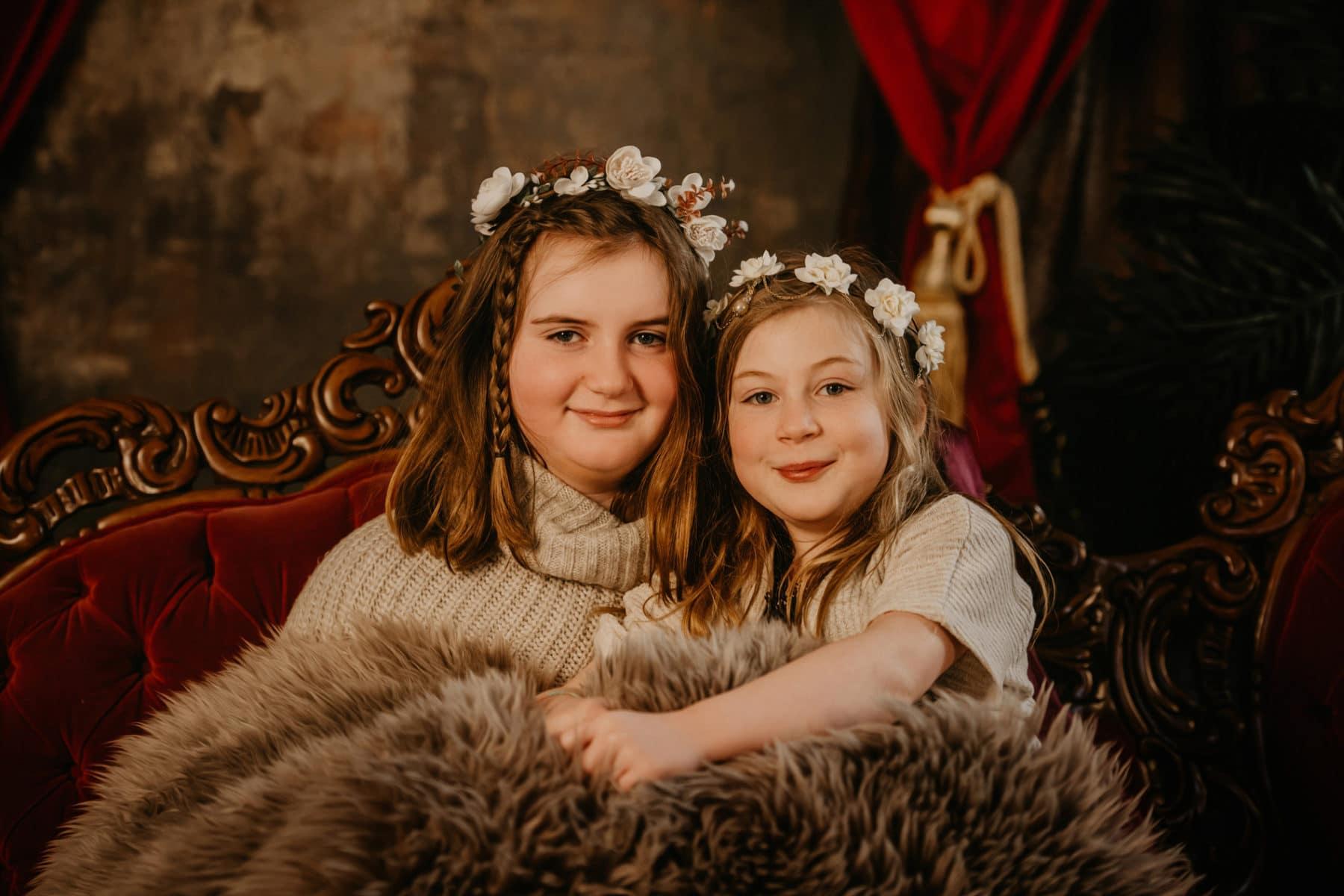 Sisters Renaissance Family Portraits