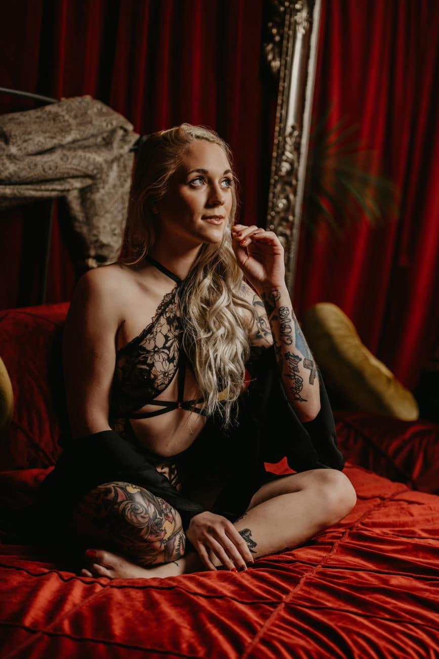 Roaring 20's inspired boudoir philadelphia