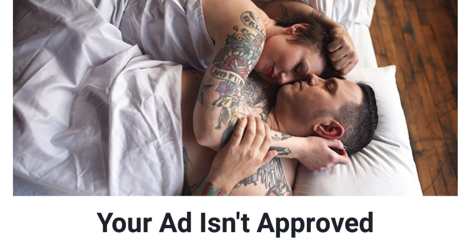 unapproved facebook ad
