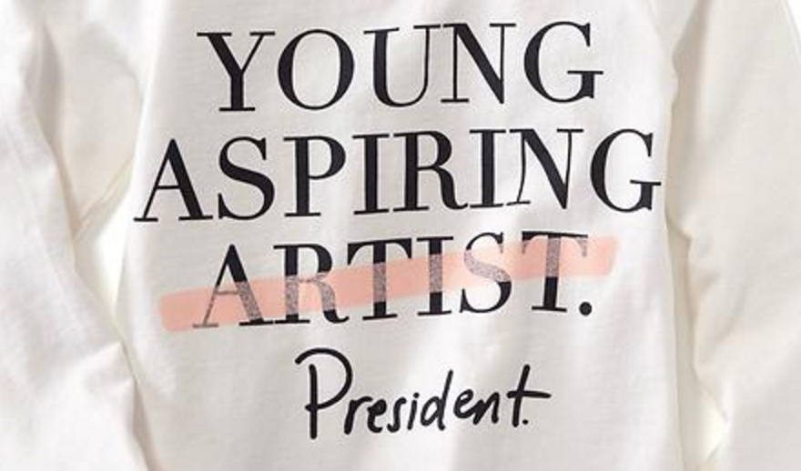 Young Aspiring Artist Old Navy